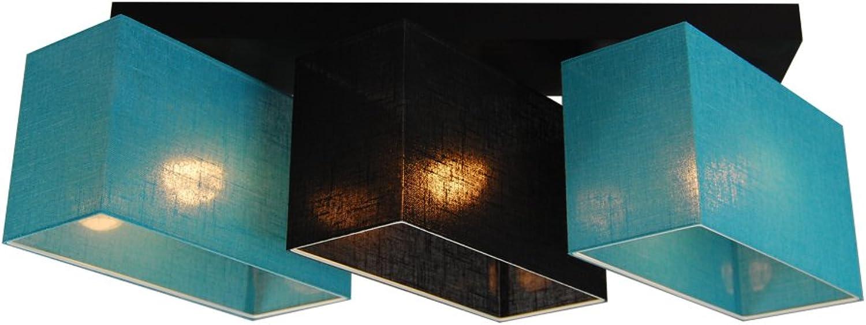 Deckenlampe - HausLeuchten JLS31TUSCD - Deckenleuchte, Leuchte, Lampe, 3-flammig, Massivholz
