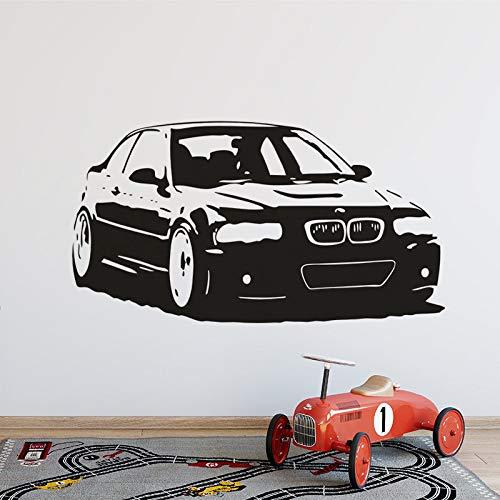 wandaufkleber 3d Wandtattoo Wohnzimmer Bmw M3 Serie Auto Teen Boys Room Decor Beliebte Auto Auto Auto Poster