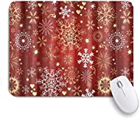 VAMIX マウスパッド 個性的 おしゃれ 柔軟 かわいい ゴム製裏面 ゲーミングマウスパッド PC ノートパソコン オフィス用 デスクマット 滑り止め 耐久性が良い おもしろいパターン (シガーロマンティックレッドローズ)