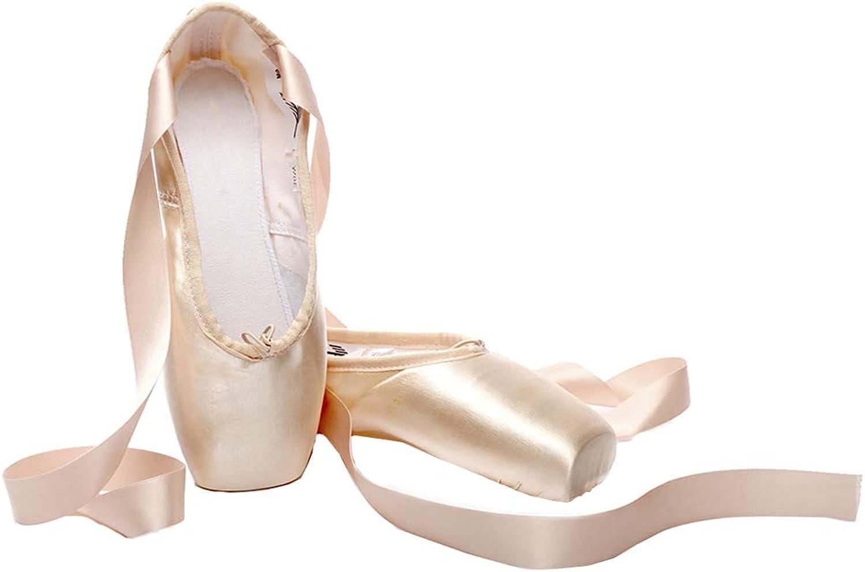 Cygnus Girls Women Ballet Slippers Dance shoes Ballet Pointe shoes Ballet Flats shoes Ballerina Slippers for Women