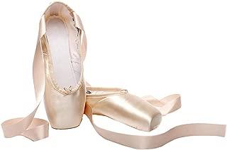 Cygnus Girls Women Ballet Slippers Dance Shoe Ballet Pointe Shoes Ballet Flats Shoes Ballerina Slippers for Women