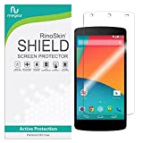 RinoGear Google Nexus 5 Screen Protector Case Friendly Screen Protector for Google Nexus 5 Accessory Full Coverage Clear Film