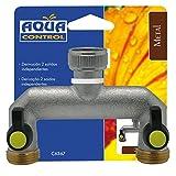 Aqua Control Altadex M120661 - Derivacion 2 vias Llaves de Paso latonadas c6367