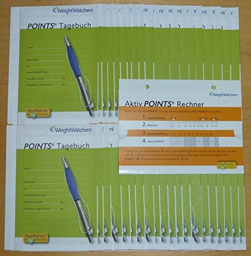 40x Points Tagebuch von Weight Watchers + Bonus *NEU*