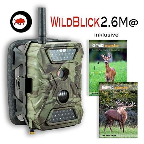 12 MP GPRS-EMAIL-SSL-Wildkamera Fotofalle WildBlick 2.6M mit Schwarzblitz