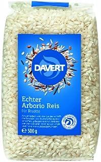Davert Arborio Reis weiß für Risotto, 2er Pack 2 x 500 g - Bio