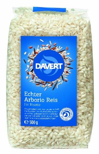 Davert Arborio Reis weiß für Risotto, 2er Pack (2 x 500 g) - Bio