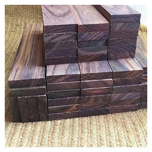 JINSUO NWXZU 1 stücke Black Rosenholz Dalbergia Latifolia.Handgefertigte DIY-Palisander-Woodwork Blackwood Rosenholz (Size : 15x3x0.2cm)