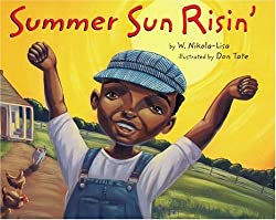 Summer Sun Risin' book and a sun craft activity from Clever Classroom