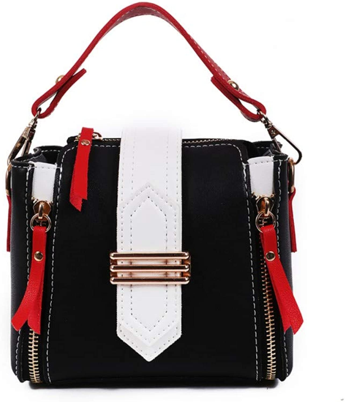 WYBBAG Tasche Weiblich Wild Messenger Bag Umhängetasche Mode Mini Square Bag Schwarz B07P9QKW6F