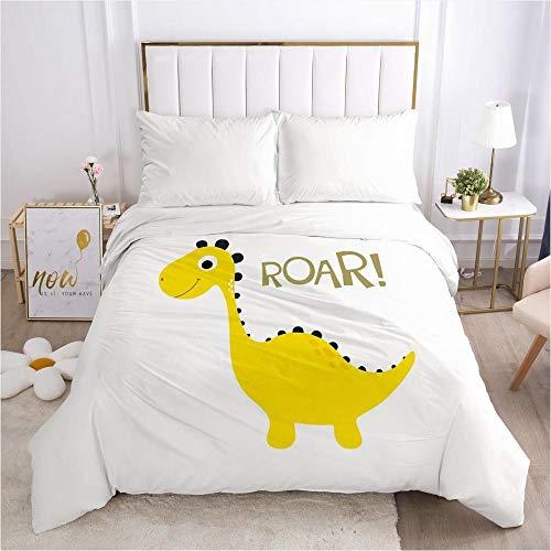 lhmlyl mattress protector Unique pattern printing factory duvet cover cartoon animal paradise-Cartoon 043-White-Q1_140*210cm