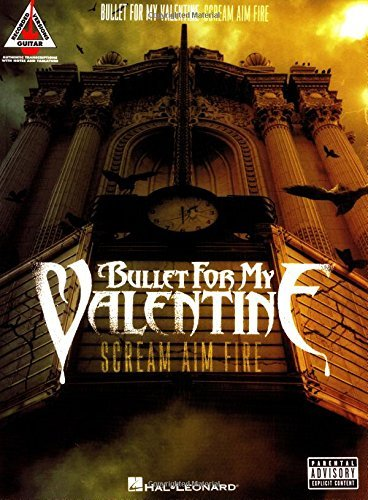 Bullet for My Valentine - Scream Aim Fire Songbook (Guitar Recorded Versions) (English Edition)