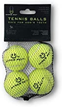 Hyper Pet Mini Tennis Balls for Dogs, Pet Safe Dog Toys for Exercise & Training, Pack of 4, Green