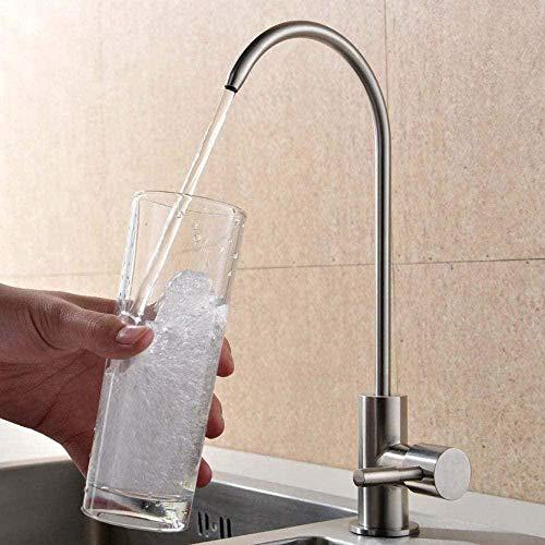 Grifo de agua potable directo de cocina 304 Sistema de grifo RO de acero inoxidable Ósmosis inversa