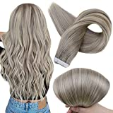Full Shine Cabello Humano Real Remy Hair Extensions Tape In Color 19A y 60 Cinta Remy En Extensiones De Cabello 20Inch 2.5G Per Set 50Gram Por Paquete De Cabello Real Tape In Hair