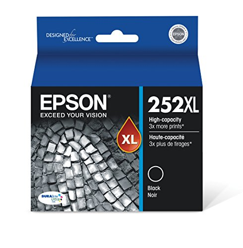 Epson T252XL120 - Ink Cartridge - Black - DURABrite Ultra High Capacity - Prime Eligible
