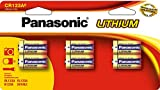 Panasonic Pile Photo Lithium CR123A spécial-Lot de 6