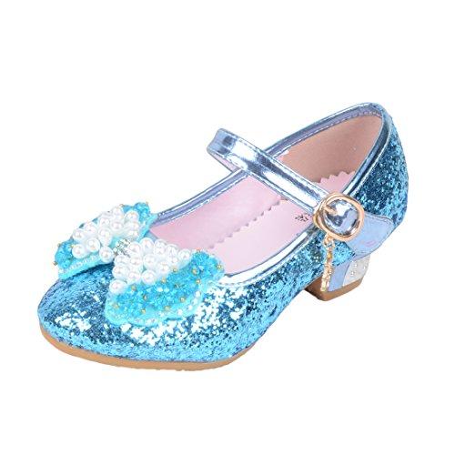 ON Prinzessin Gelee Partei Absatz-Schuhe Sandalen für Mädchen Glanz Prinzessin