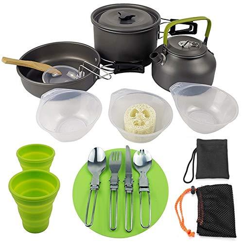 Outdoor Supplies Camping Teekanne Set...