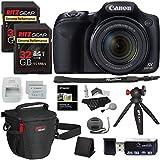 Canon PowerShot SX530 HS Digital Camera + Ritz Gear 32GB U3 Memory Card + Tabletop Tripod + Ritz Gear Zoom Bag...