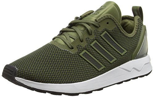 adidas Herren ORIGINALS Zx Flux ADV Snearkers, Grün (Olive Cargo/Core BlackOlive Cargo/Core Black), 47 1/3