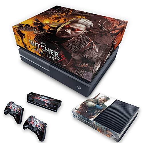 Capa Anti Poeira e Skin para Xbox One Fat - The Witcher 3#B