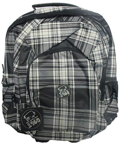 Buffalo Unisex Rucksack für Schule und Reisen, klassisch, wasserabweisend, 39,6 cm (15,6 Zoll) Laptop, leicht, verstaubar, langlebig, für Reisen, Wandern, Tagesrucksack