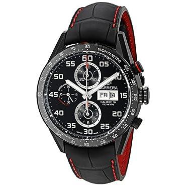 TAG Heuer Men's CV2A81.FC6237 Analog Display Swiss Automatic Black Watch