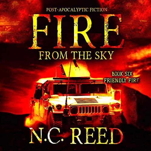 Fire from the Sky audiobook cover art