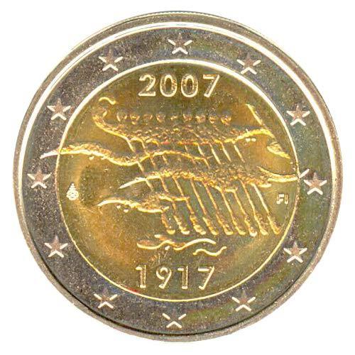 2 € Finlandia 2007 Indipendenza