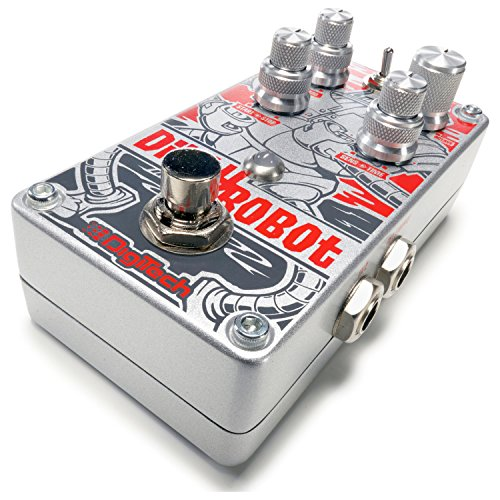 Digitech Dirty Robot Stereo Mini-Synth Pedal w/ 2 Patch Cables