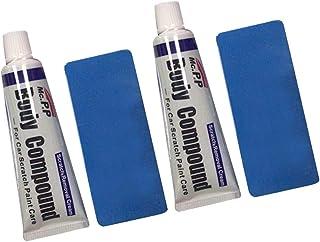 Kit de cera de polimento de reparo de arranhões para carro da VICASKY, kit de esponja composto corporal creme cera de reto...