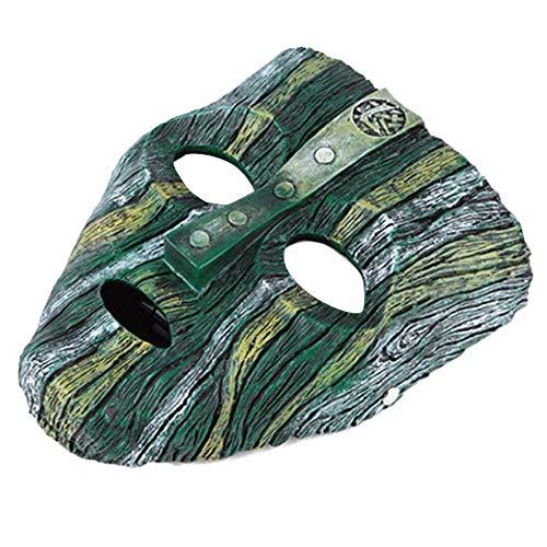 FOONEE Resina Loki Mask, Deluxe Jim Carrey The Mask Halloween Novelty Fancy Dress Costume