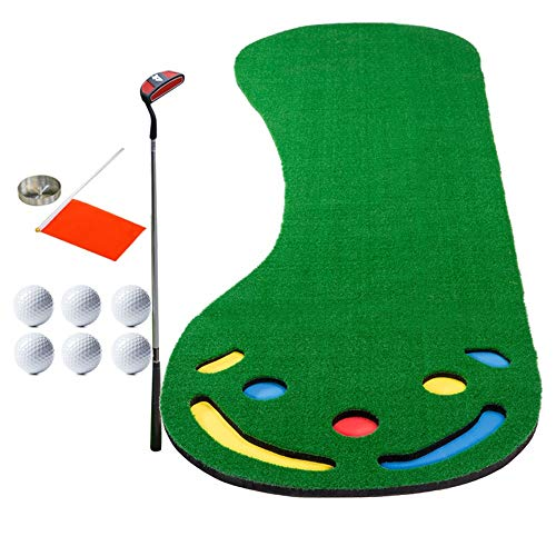 Great Features Of YAOSHIBIAN- Golf Putting Green System Golf Training Mat Professional Golf Practice...