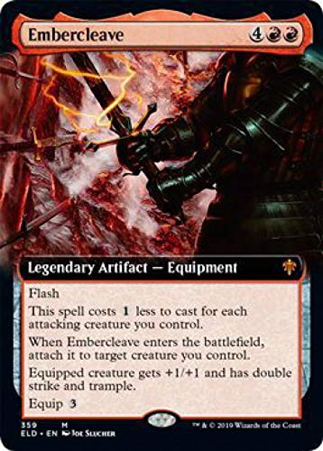 Magic: The Gathering - Embercleave - Extended Art - Throne of Eldraine