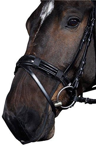 Reitsport Amesbichler Nasenfliegenschutz Insektenschutz für Pferde Fliegen Nüsternschutz Gr. Pony