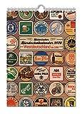 Historischer Bierdeckelkalender BRD 2020: Westdeutschland bis 1990 (Bierdeckel- und Bieretikettenkalender / DDR/BRD)