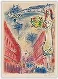Marc Chagall 《Avenue De La Victoire in Nizza》 Dadaismus