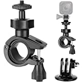 Bike Clamp Bike Bracket Bicycle Clamp Mount Holder for GoPro Hero Bluetooth Speakers Action Cameras with Tripod Bracket for Gopro