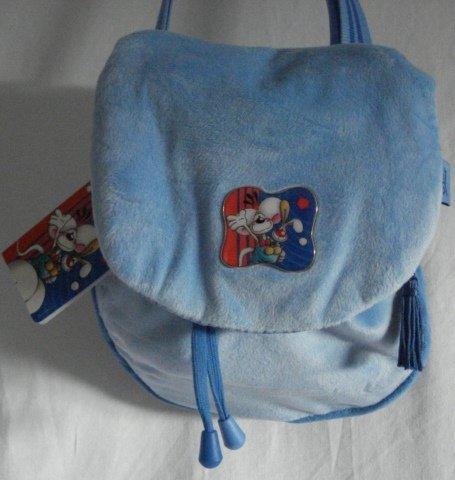 Diddl Tasche blau weich Hase Nicki