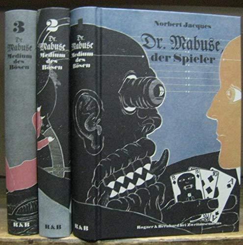 Dr. Mabuse - Medium des Bösen. Komplett mit den Bänden I -...