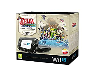 Console Nintendo Wii U 32 Go noire - 'The Legend of Zelda : Wind Waker HD' - édition limitée premium pack (B00EUE9TLS) | Amazon price tracker / tracking, Amazon price history charts, Amazon price watches, Amazon price drop alerts