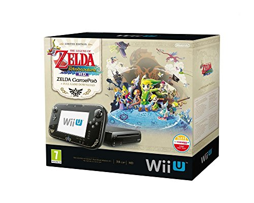 Nintendo Wii U - Konsole, Premium Pack, 32GB, schwarz - The Legend of Zelda - The Wind Waker HD