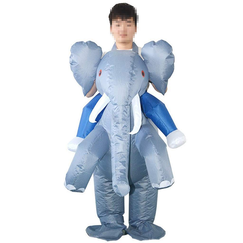 KODH Inflable Adulto de Halloween Creativo Elefante Inflable Traje ...