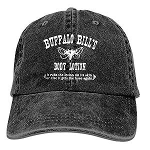 Baseball Trucker Cap,Buffalo Bill's Body Lotion Adjustable Youth Cowboy Mens Golf Caps Hats