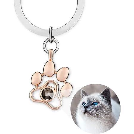Custom Illustration Keychain custom portrait pets Your Pet/'s Keychain custom keychain CAT KEYCHAIN PET Keychain custom portrait cat