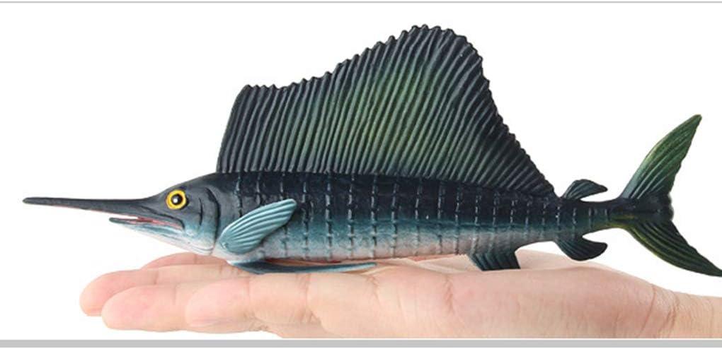 Ruiboury Creature Animale Marino simulato Bambini Bambini Educational Giocattolo di plastica realistica Ocean Sea Life Decorazione Domestica