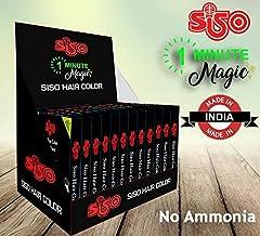 Embelle Siso 1 Minute Magic Hair Color (15ml) - Pack of 24