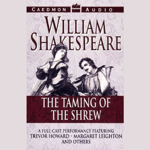 The Taming of the Shrew audiobook cover art
