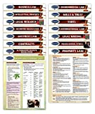Business Law & Legal Charts - Law Students and Professionals - 15 Quick Reference Guide Bundle by Permacharts